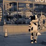 牛の着ぐるみ