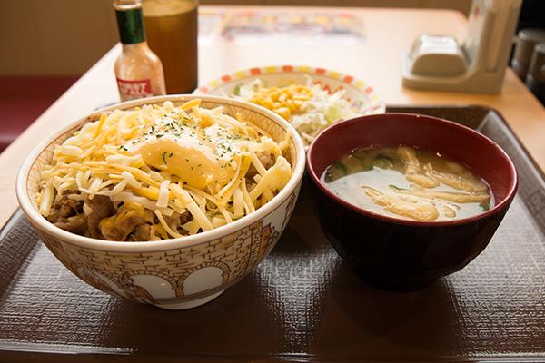 とろ〜り3種のチーズ牛丼3