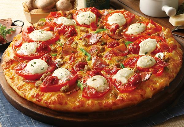 マスカルポーネの贅沢10種ピザ2