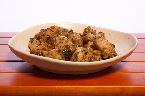 青さのりかおる国産若鶏のぼんじり塩焼き1