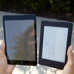 KindleとiPadの比較