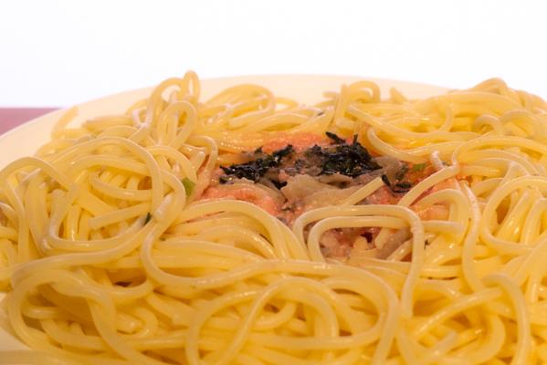 大盛り和風たらこスパゲティ1