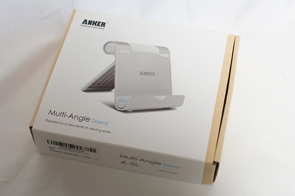 Anker タブレット用スタンド 箱
