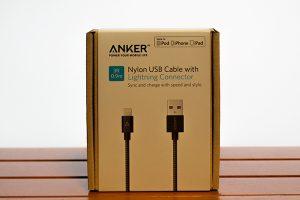 Anker 第2世代 高耐久ナイロン ライトニングUSBケーブル