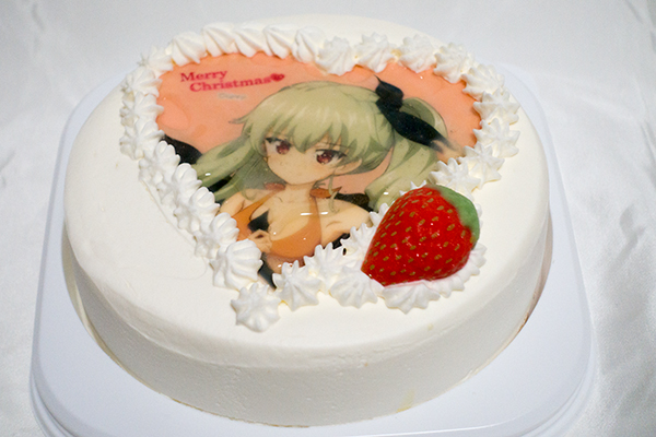 あにしゅが アンチョビ クリスマスケーキ_001