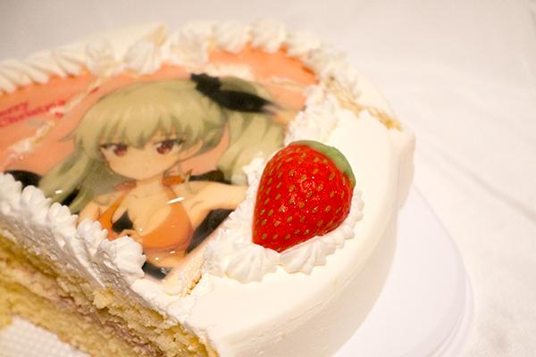 あにしゅが ケーキ 切り方