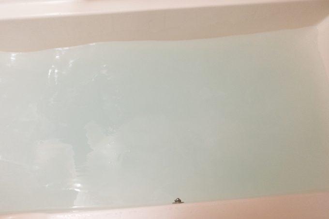薬用ソフレ 濃厚しっとり入浴液 入れた後