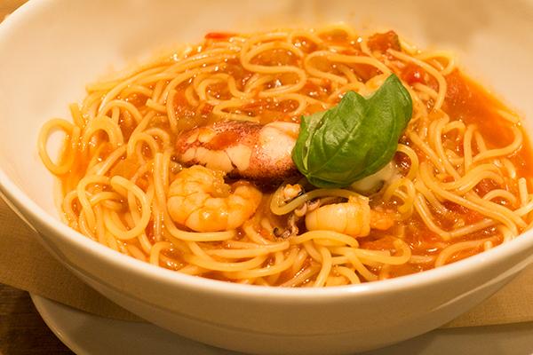 ココス 魚介のスープスパゲッティ