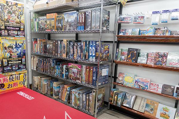 トレーダー 秋葉原3号店 ボードゲーム売り場