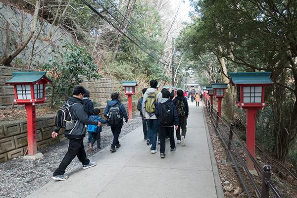 高尾山 観光客
