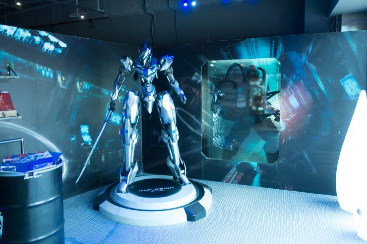 Rayark Concept Implosion展示スペース